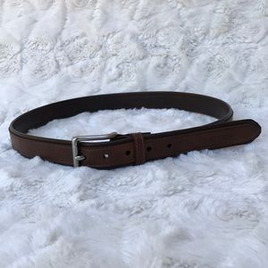 EUC Nautical Leather Belt Sz28/70